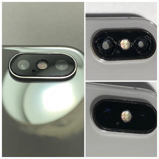 【iPhone X】リアカメラ&リアカメラ・レンズガラスの交換修理