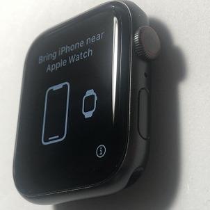 【Apple Watch】Series5・44mm ガラス割れ修理例(栃木県宇都宮市から郵送修理)